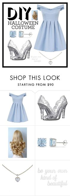"""DIY modern Cinderella"" by jpc51105 ❤ liked on Polyvore featuring Chi Chi, Dolce&Gabbana, Ice, Cartier, PBteen, modern, halloweencostume and DIYHalloween"
