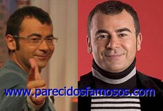 Parecidos con famosos: Jorge Javier Vázquez antes y después