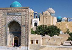 Shah-i-Zinda, Samarkand by Fulvio's photos, via Flickr