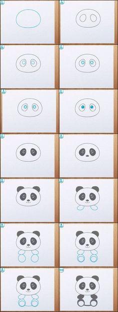 Learn to draw a Panda!