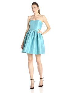 Donna Morgan Women's Madison Strapless Dress *** Read more reviews of the product by visiting the link on the image. (This is an affiliate link and I receive a commission for the sales)