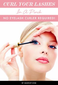 We all know that the key to doll-like eyes lies in the eye lash technique! You can get the same long, curled lashes — without the use of your curler. We know what you're thinking…we can't live without our lash curlers either, but these tricks are sure to do the trick for when your out without your beauty tools.