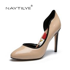 a793b4aa183 Women s Pumps 2017 Classic Round Toe Spring Autumn woman shoes PU Leather  36 41 Free shipping NAYTILYE-in Women s Pumps from Shoes on Aliexpress.com  ...