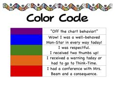 behavior color codes that i can get behind
