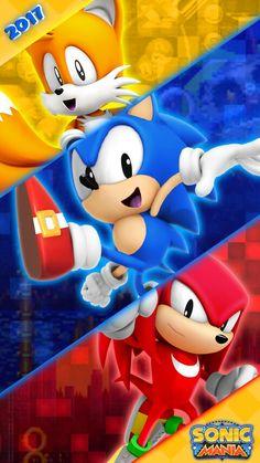 Sonic Mania Iphone Wallpaper Sonic The Hedgehog Sonic Mania