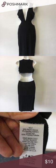 Peek a boo dress Dress Love Republic Dresses Midi