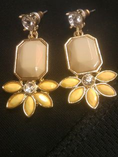 GORGEOUS JCREW EARRINGS FOR SPRING. Brand new. Ships with JCREW Jewelry bag. Hurry!