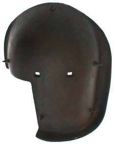 WW1 german snipers were given this kind of helmet to protect their heads from enemy fire, while taking aim and shooting at enemy soldiers