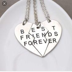 7dc691d0556c Best Friends Forever Three Piece Necklace Bffs