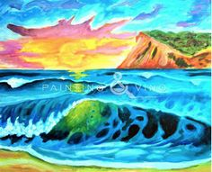 """""""Shorebreak"""" Tuesday March 24th, 2015 6-9pm at Wine Steals (Cardiff by the Sea). ONLY 3 SEATS LEFT! Come paint with us! Just click the picture to follow the link!"""