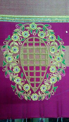 Moggam   Moggam work Cutwork Blouse Designs, Pattu Saree Blouse Designs, Embroidery Neck Designs, Cutwork Embroidery, South Indian Blouse Designs, Best Blouse Designs, Simple Blouse Designs, Bridal Blouse Designs, Chudidhar Neck Designs