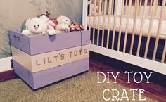 Build your own custom DIY rolling crate to help keep the house organized. This project is perfect for keeping toys, shoes, and other items stored away.
