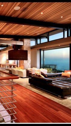 Beautiful view from this coastal home
