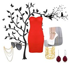 """Untitled #22"" by mina160 on Polyvore featuring Godinger, Christian Dior and Charlotte Russe"