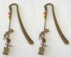 Dragon Castle Fairy Bookmark in Pink. $7.99, via Etsy.