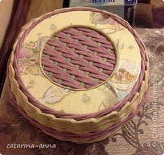 Поделка изделие Плетение плетение Трубочки бумажные фото 11