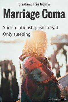 Such an encouraging post! Breaking free from a marriage coma. God can heal your relationship!