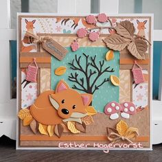 Cut Paper Illustration, Tarjetas Pop Up, Marianne Design Cards, Paper Cutting, Die Cutting, Diy And Crafts, Paper Crafts, Elizabeth Craft, Cute Fox