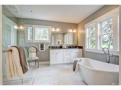 Luxurious master bath