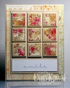 Mama Dini's Stamperia: Mix-Ability - Patchwork