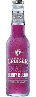 Vodka Cruiser Bold Berry Blend 275mL