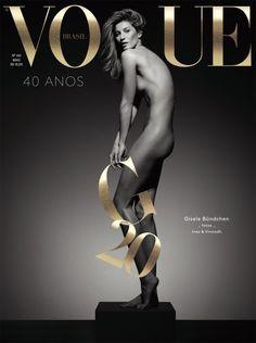 Gisele Bundchen by Inez & Vinoodh - Vogue Brazil