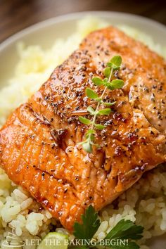This Ginger Garlic Glazed Salmon will rock your taste buds in more way than one!