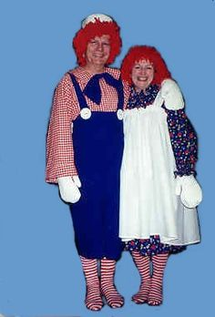 Raggedy Ann and Andy costumes
