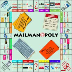 Want to play MAILMANOPOLY?