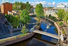 Львиный мост, СПб., Россия