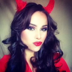 halloween devil makeup for little girls | my devil again 30 Hair ...