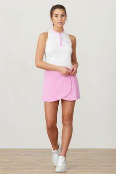Tennis Wear, Tennis Dress, Tennis Clothes, Golf Wear, Women's Golf Tops, Tennis Tops, Cute Golf Outfit, Sporty Outfits, Tennis Outfits
