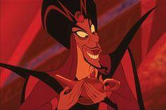 """Hold begge ben på jorden... Det kan betale sig at holde begge ben på jorden og ikke være grådig efter magt, rigdom og berømmelse. Det kan i sidste ende ødelægge en. Det må Jafar i """"Aladdin"""" indse, da han bliver fanget i lampen, som ellers var hans mål mod ultimativ magt."""