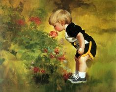 Дети в работах Donald Zolan (45 работ) » Картины, художники, фотографы на Nevsepic