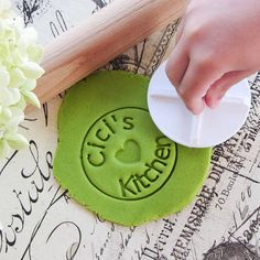 Check out this item in my Etsy shop https://www.etsy.com/listing/199320392/custom-stamp-cookie-cutter-with-handle