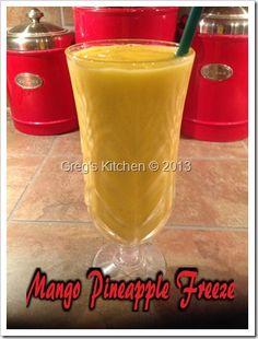 Mango Pineapple Freeze