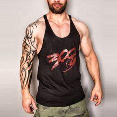 1be1ba40adcf3 MENS Racerback Bodybuilding Stringer Tank Top Stringer Tank Top