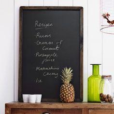 Small Framed Blackboard - Blackboards - Home Decoration - Home Accessories
