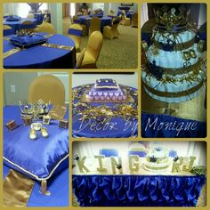 Marvelous Royal King Theme Baby Shower
