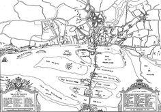 Nantes : plan de Louis Jouanaulx, 1722