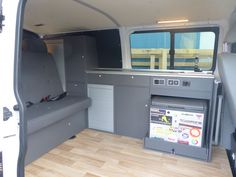 Individueller Ausbau mir vorhandener Kühlbox für VW T5 lang