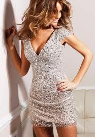 NYE dress... Can't decide! Sweater dress and boots or sparkle dress with heels?? Hmmm..