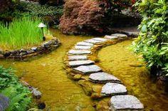 Chemin de pierres