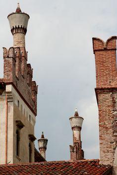 Venetian chimneys, Venice, Italy