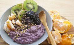 Loving Earth - Recipes - Raw Buckwheat & Maqui Berry Porridge