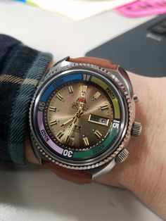 Vintage Watches [Orient] My new to me King Diver : Watches Army Watches, Cool Watches, Pocket Watches, Orient Watch, Expensive Watches, Vintage Fur, Luxury Watches For Men, Beautiful Watches, Vintage Watches