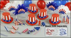 Deluxe Patriotic Party Assortment