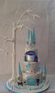 Frozen Cake ~ wow!!!