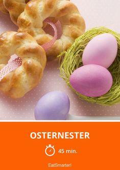 Osternester für's Osterfrühstück