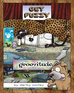 Blueprint for disaster a get fuzzy collection books worth get fuzzy is the comic strip for everyone who loves their pets with an attitude malvernweather Images